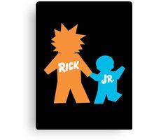 Rick Jr Canvas Print