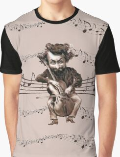 Cello Chops Graphic T-Shirt