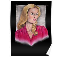 Gillian Anderson Portrait Poster