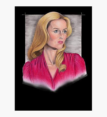 Gillian Anderson Portrait Photographic Print