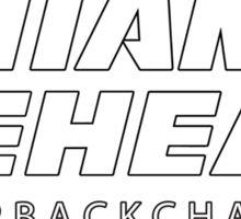 Miami Reheat Stencil Sticker