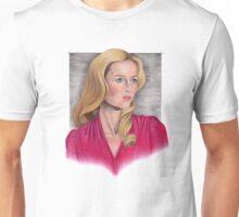 Gillian Anderson Portrait Unisex T-Shirt