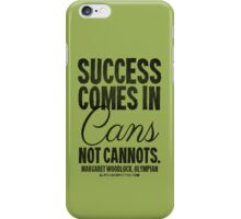 Canned Success Black Text T-shirts & Homewares iPhone Case/Skin