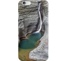Pluto Falls at Watkins Glen iPhone Case/Skin