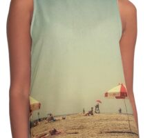 One Summer Day at the Beach Contrast Tank