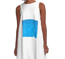 Beautiful Water Picture A-Line Dress