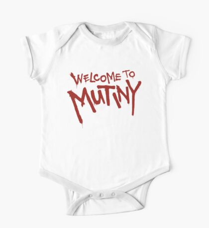 Welcome To Mutiny One Piece - Short Sleeve