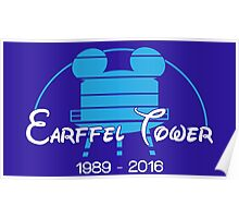 Farewell earffel tower Poster