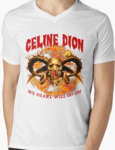My Heart Will go on Mens V-Neck T-Shirt