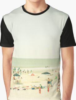 One Summer Day at the Beach Graphic T-Shirt