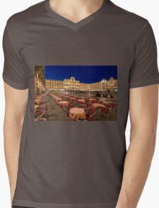 Mayor square, Salamanca Mens V-Neck T-Shirt