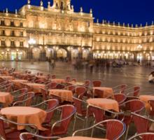Mayor square, Salamanca Sticker