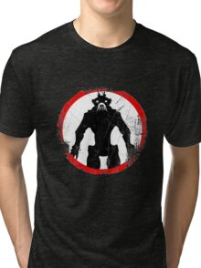 District 9 (Vintage sign) Tri-blend T-Shirt