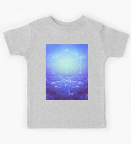 All but the Brightest Star (Sirius Star Geometric) Kids Tee