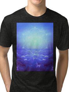 All but the Brightest Star (Sirius Star Geometric) Tri-blend T-Shirt