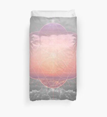 The Sun Is But A Morning Star Duvet Cover