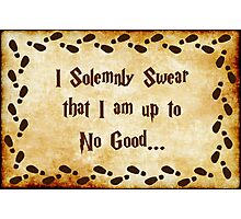 I Solemnly Swear Photographic Print