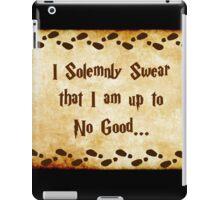 I Solemnly Swear iPad Case/Skin