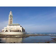 Hassan II Mosque Photographic Print