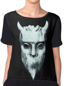 NAMELESS GHOUL - marble oil paint Chiffon Top