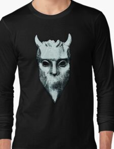 NAMELESS GHOUL - marble oil paint Long Sleeve T-Shirt