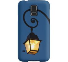 Streetlamp in Fontainebleau Samsung Galaxy Case/Skin