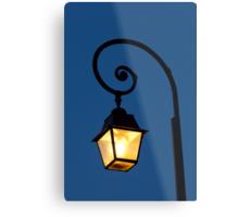 Streetlamp in Fontainebleau Metal Print