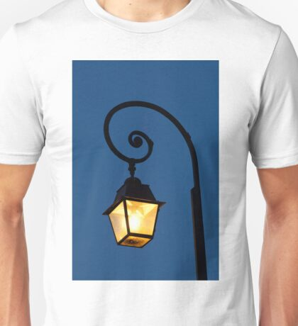 Streetlamp in Fontainebleau Unisex T-Shirt