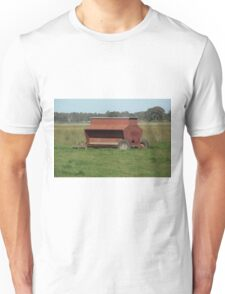 Sheep pellet feeder Unisex T-Shirt