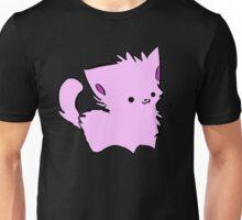 Pink Kawaii Kitty Unisex T-Shirt