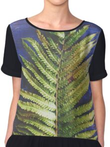 Woodland Fern Chiffon Top