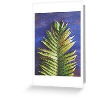 Woodland Fern Greeting Card