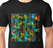 Art splash brush strokes paint abstract seamless pattern print background Unisex T-Shirt