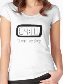 TAKEN BY SLEEP Women's Fitted Scoop T-Shirt