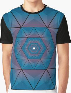 Abstract Hexagons joined together Graphic T-Shirt