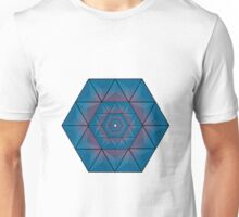 Abstract Hexagons joined together Unisex T-Shirt