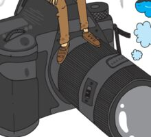 The photographer Sticker