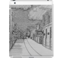 255 - GUTTER HILL SEEN FROM JOHNSTOWN - DAVE EDWARDS - INK - 2014 iPad Case/Skin