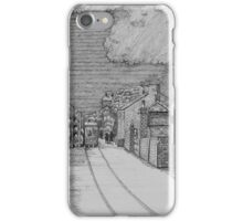 255 - GUTTER HILL SEEN FROM JOHNSTOWN - DAVE EDWARDS - INK - 2014 iPhone Case/Skin