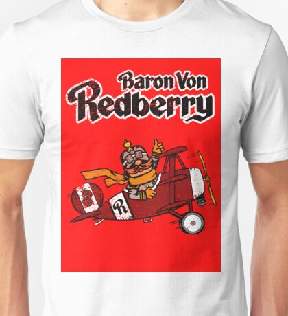 Baron Von Redberry red background Unisex T-Shirt