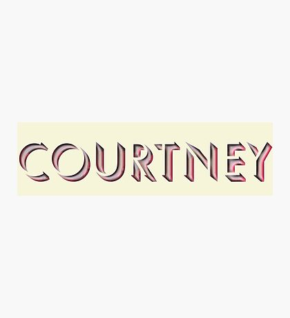 Courtney Photographic Print
