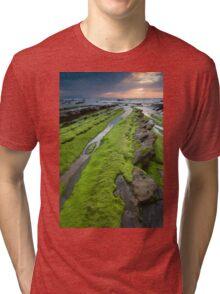 Beach of Barrika Tri-blend T-Shirt