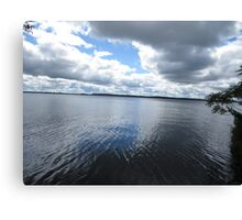 Sky Kissed Water Canvas Print