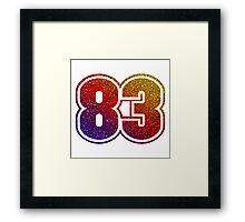 1983 SPARKLE Framed Print