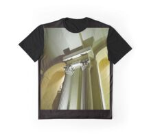 Column and Ceiling of the Pentecost Church Graphic T-Shirt