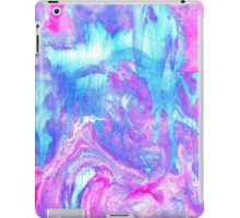 Melting Marble in Pink & Turquoise iPad Case/Skin