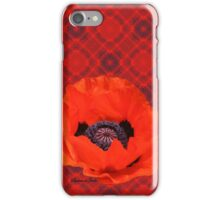 In Flanders Fields the Poppies Blow iPhone Case/Skin
