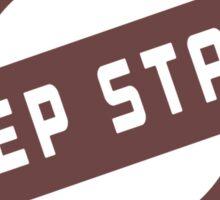 DEEP STACK LOST VINYL HUNTERS Sticker