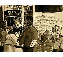 Conversations at Greens & Co Photographic Print