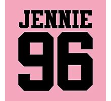BLACKPINK Jennie 96 (Black) Photographic Print